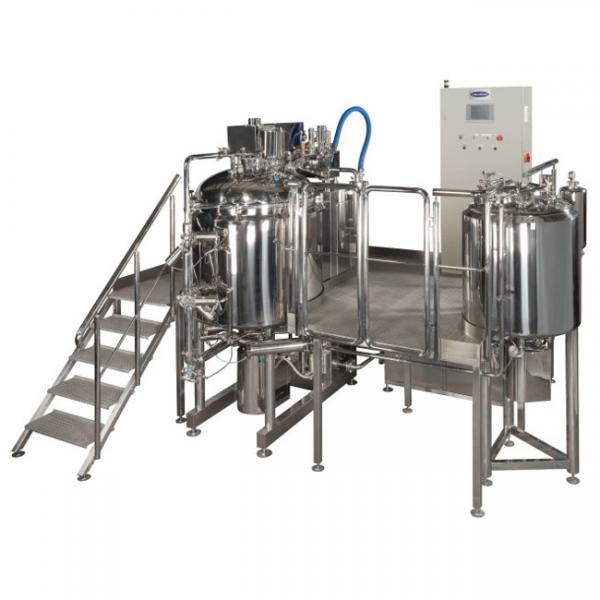 Linia procesowa do produkcji wyrobów farmaceutycznych o wysokiej lepkości