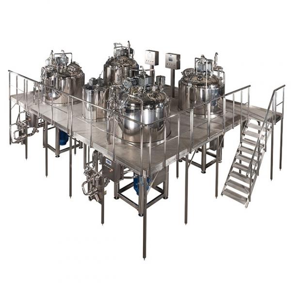 Przemysłowa linia procesowa do produkcji wyrobów kosmetycznych